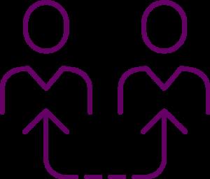 icône équipe pro-active pour le nettoyage de bureaux et commerces