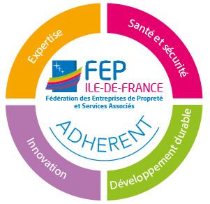 logo de la fédération des entreprises de propreté et services associés